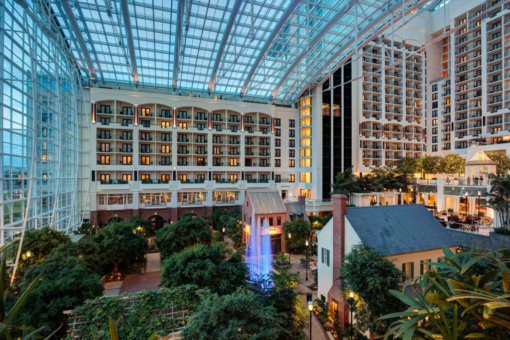Gaylord Opryland Resort & Convention Center atrium